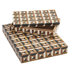 Marquetry Box - Amy Berry Home
