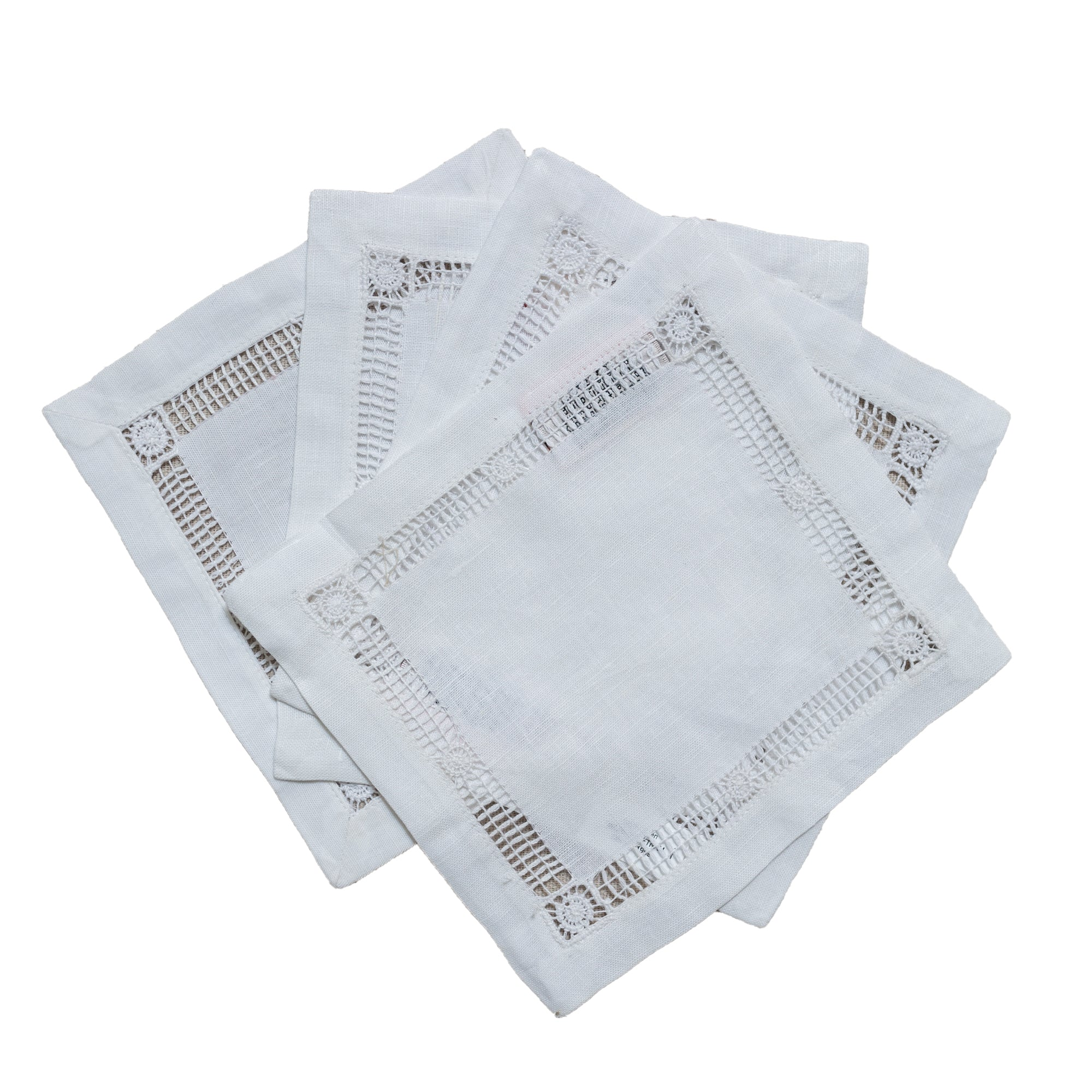 Linen Cocktail Napkins - Amy Berry Home