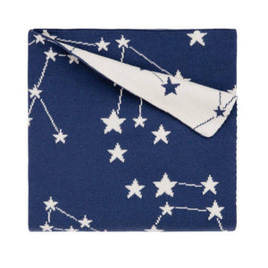 Navy Constellation Blanket - Amy Berry Home