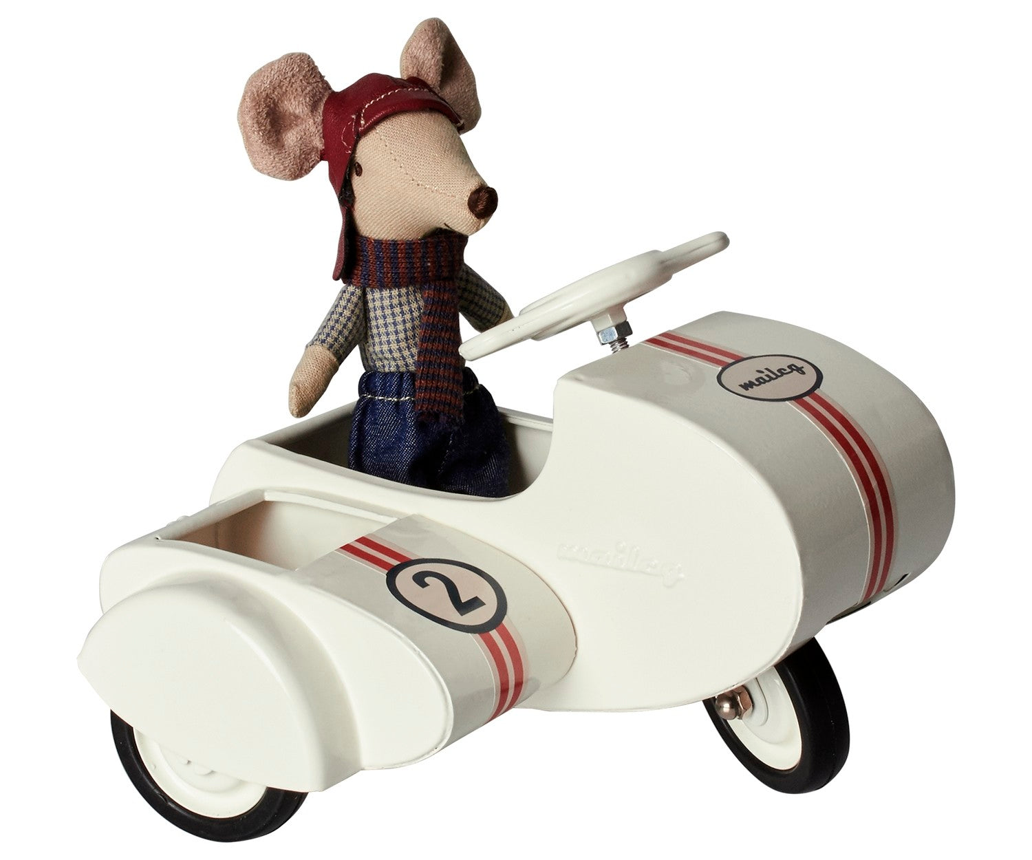 Metal Scooter with Sidecar - Amy Berry Home