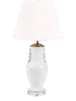White Urn Lamp - Amy Berry Home
