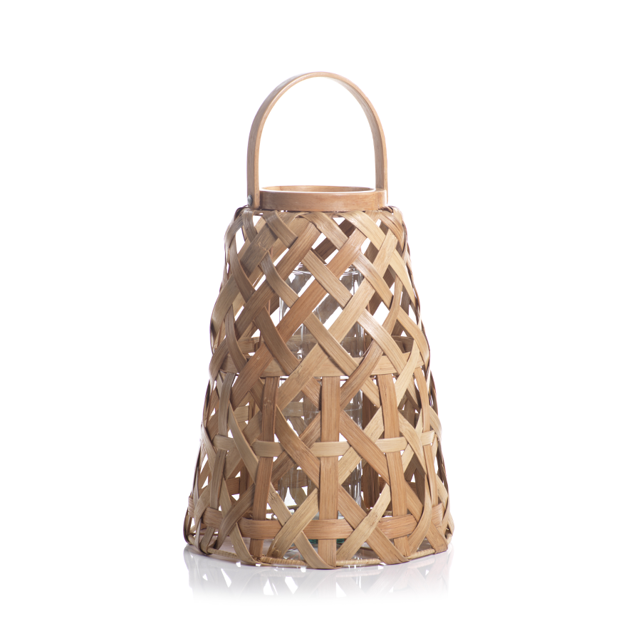 Rattan Lantern - Amy Berry Home