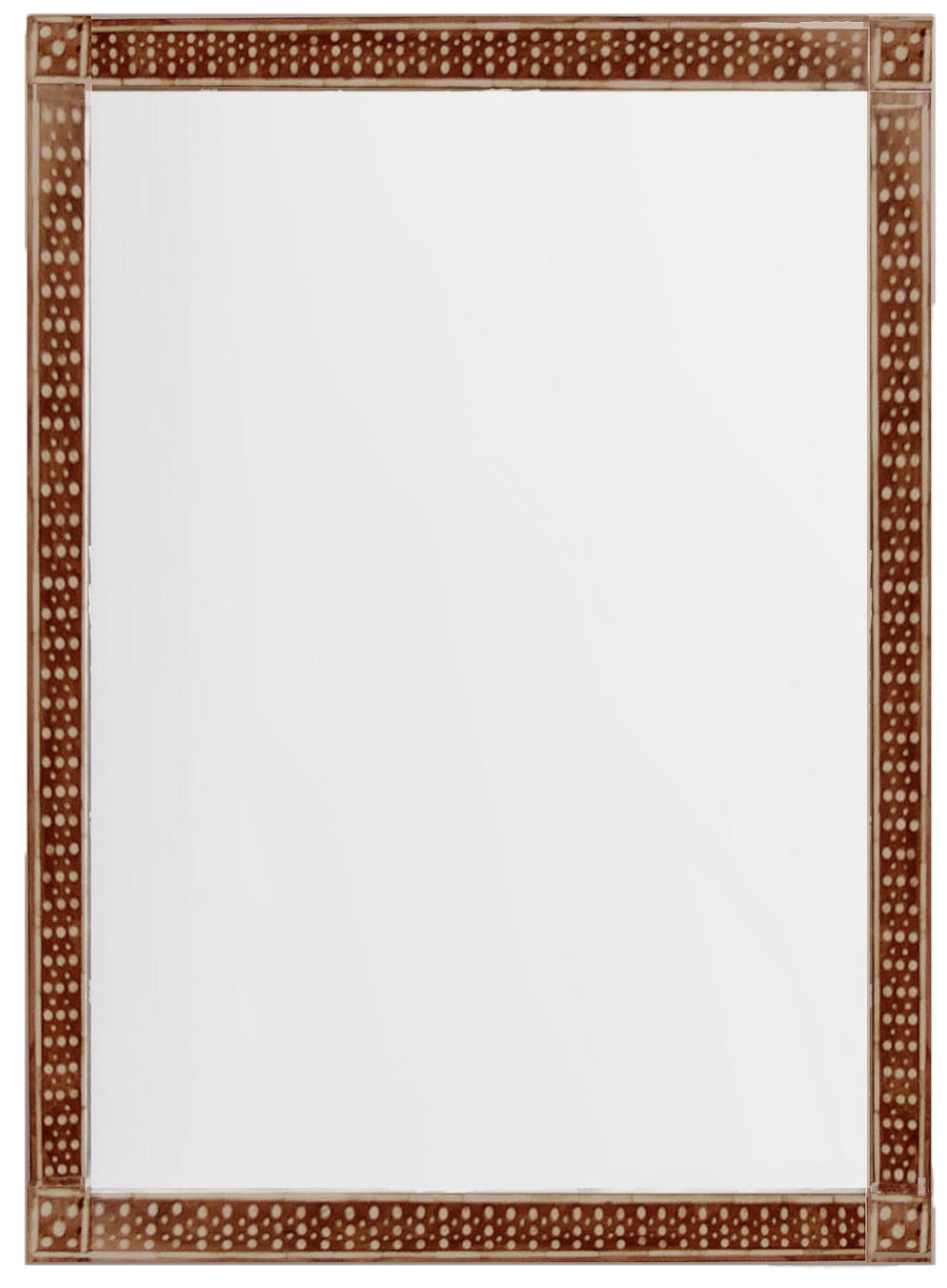 Bone Dotted Mirror - Amy Berry Home