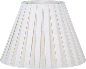 Box Pleat Linen Lamp Shades - Amy Berry Home