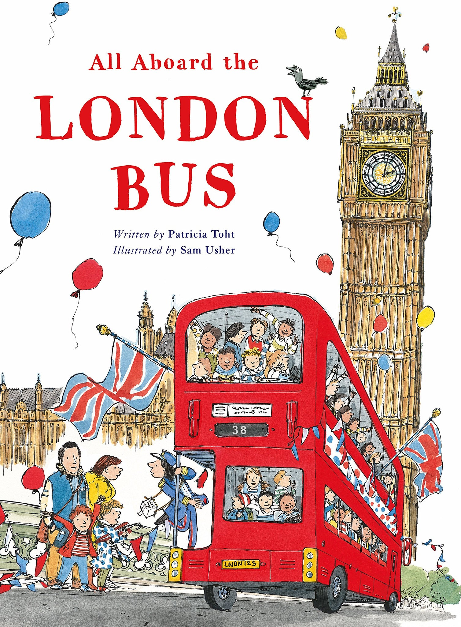 All Aboard the London Bus - Amy Berry Home