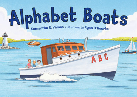 Alphabet Boats - Amy Berry Home