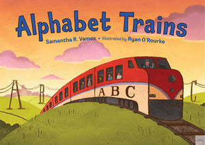 Alphabet Trains - Amy Berry Home