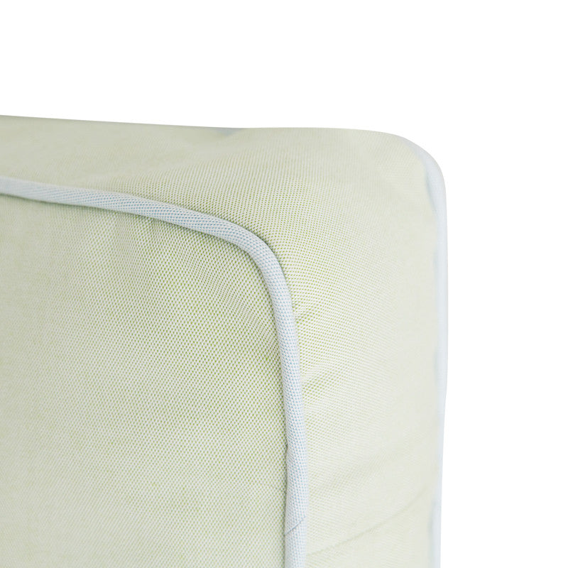 Green with Blue Welt Rectangle - Amy Berry Home