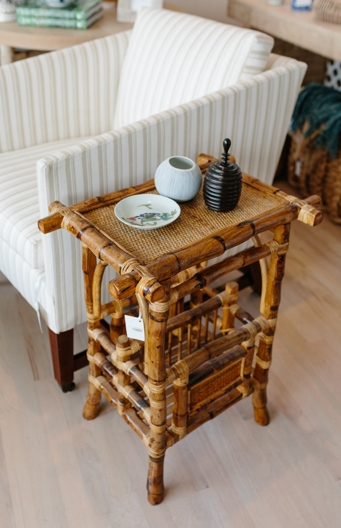 Bamboo Magazine Table - Amy Berry Home