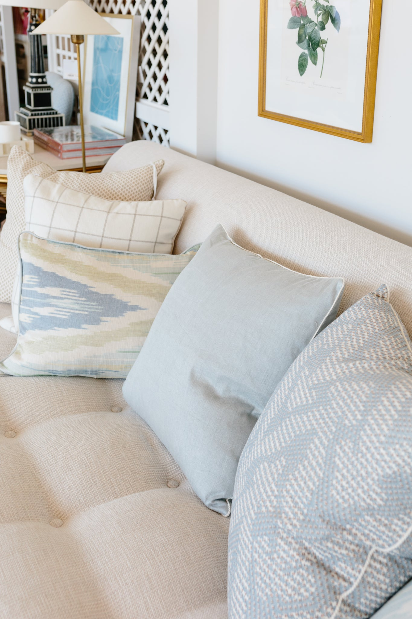 Grand Union Pillow - Amy Berry Home
