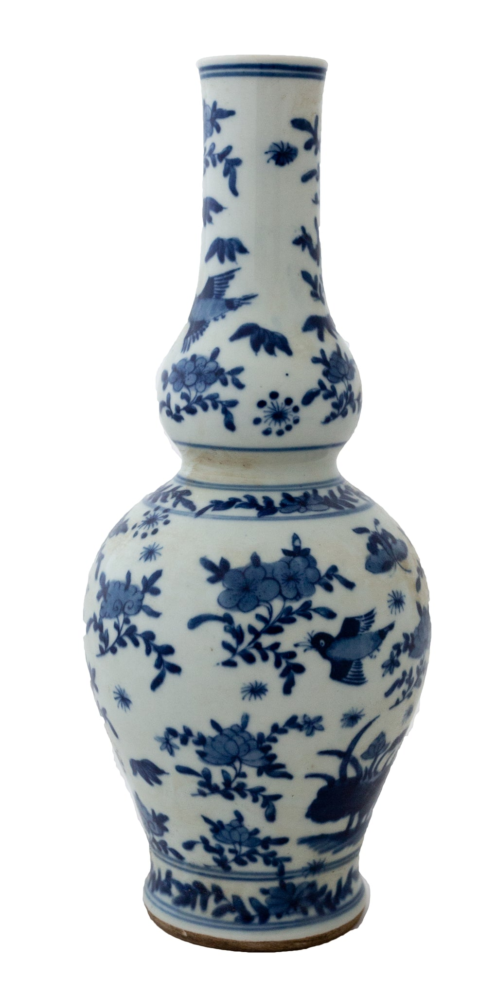 Blue And White Flying Bird Vase - Amy Berry Home
