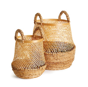 Tapered Wicker Baskets - Amy Berry Home