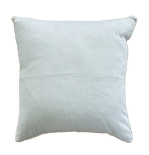Blue Strie Linen Pillows - Amy Berry Home