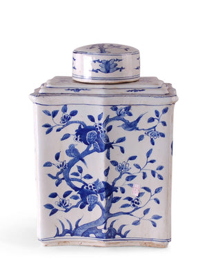 Floral Tea Tin Jar - Amy Berry Home