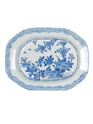 Blue & White Tray - Amy Berry Home