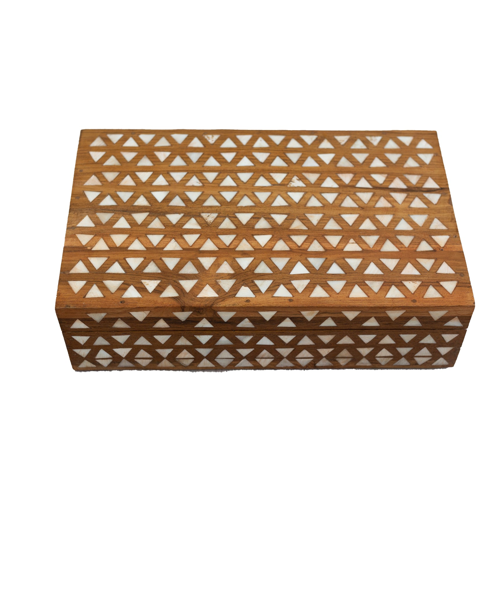 Geometric Wood Box - Amy Berry Home