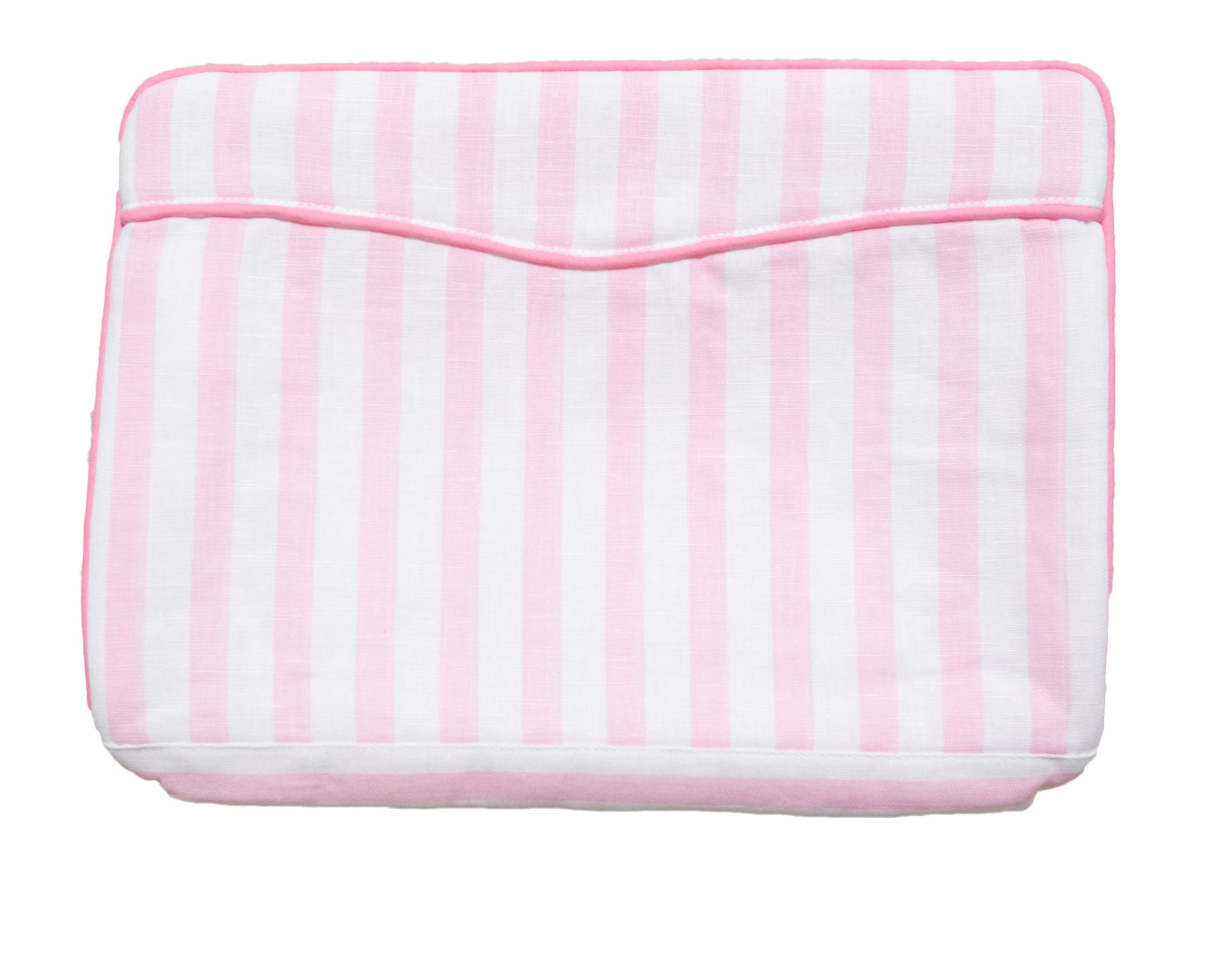 Pink Stripe Vanity Bags - Amy Berry Home