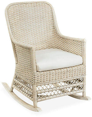 Wicker Rocking Chair - Amy Berry Home