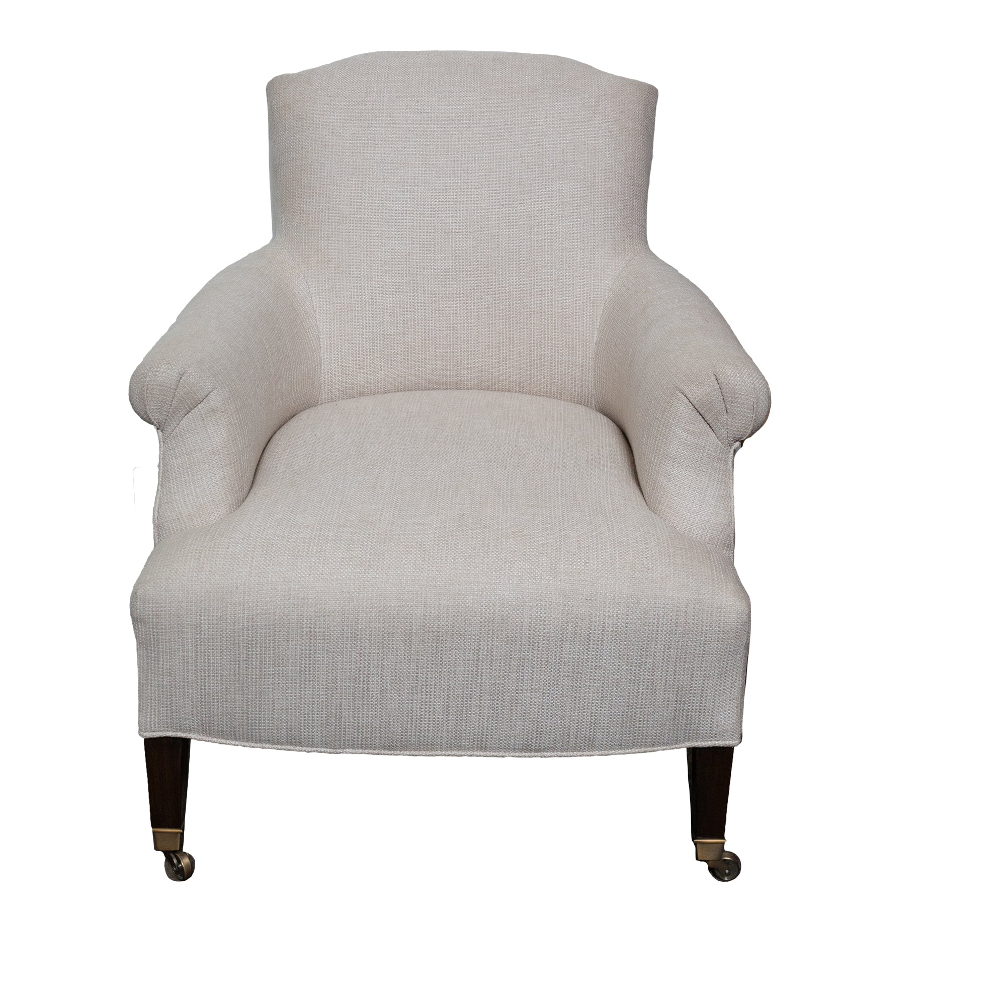 Neutral Smoking Chair - Amy Berry Home