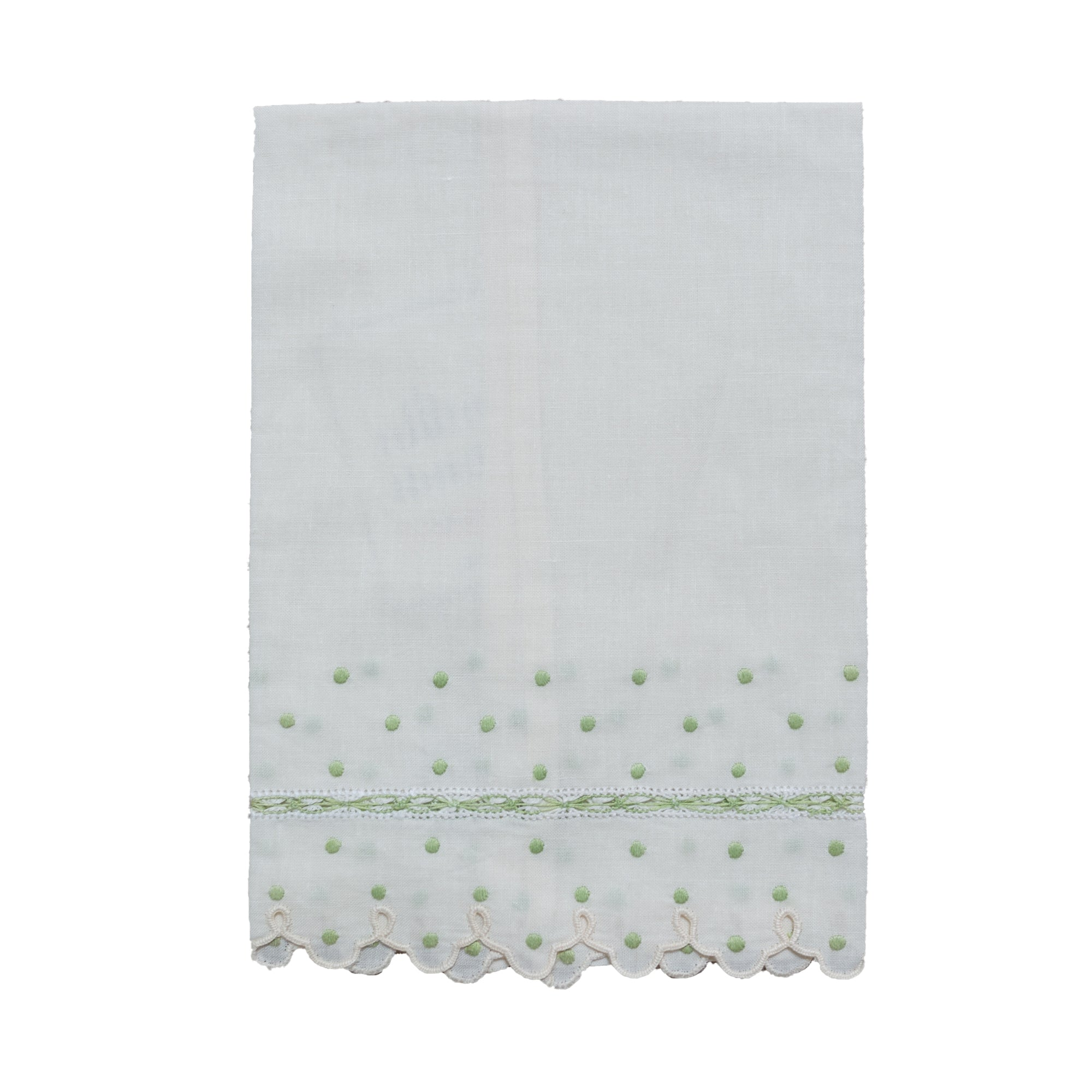 Scallop Linen Hand Towels - Amy Berry Home
