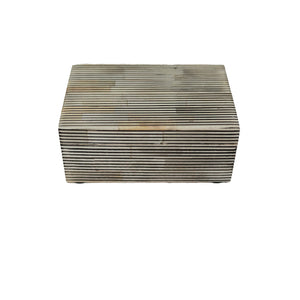 Pin Stripe Bone Box - Amy Berry Home