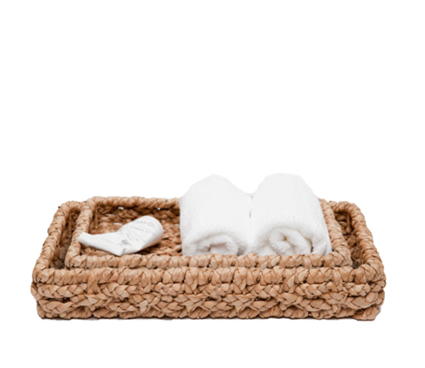 Braided Seagrass Tray - Amy Berry Home