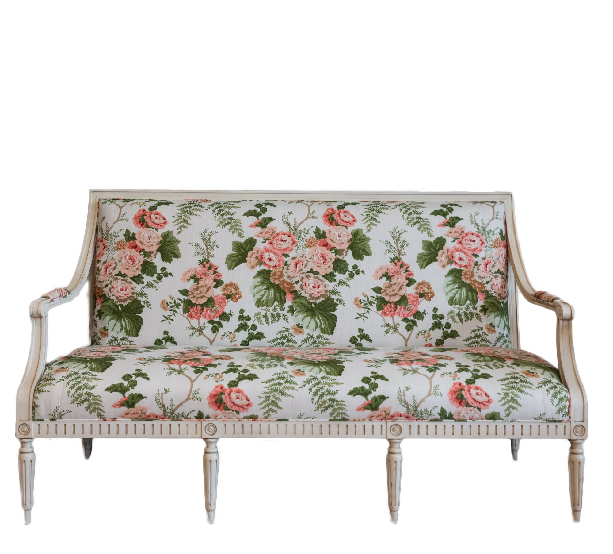 Floral Settee - Amy Berry Home