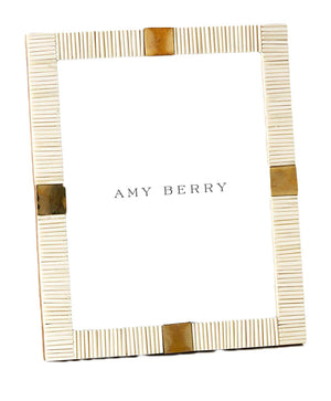 Brass and Bone Photo Frames - Amy Berry Home