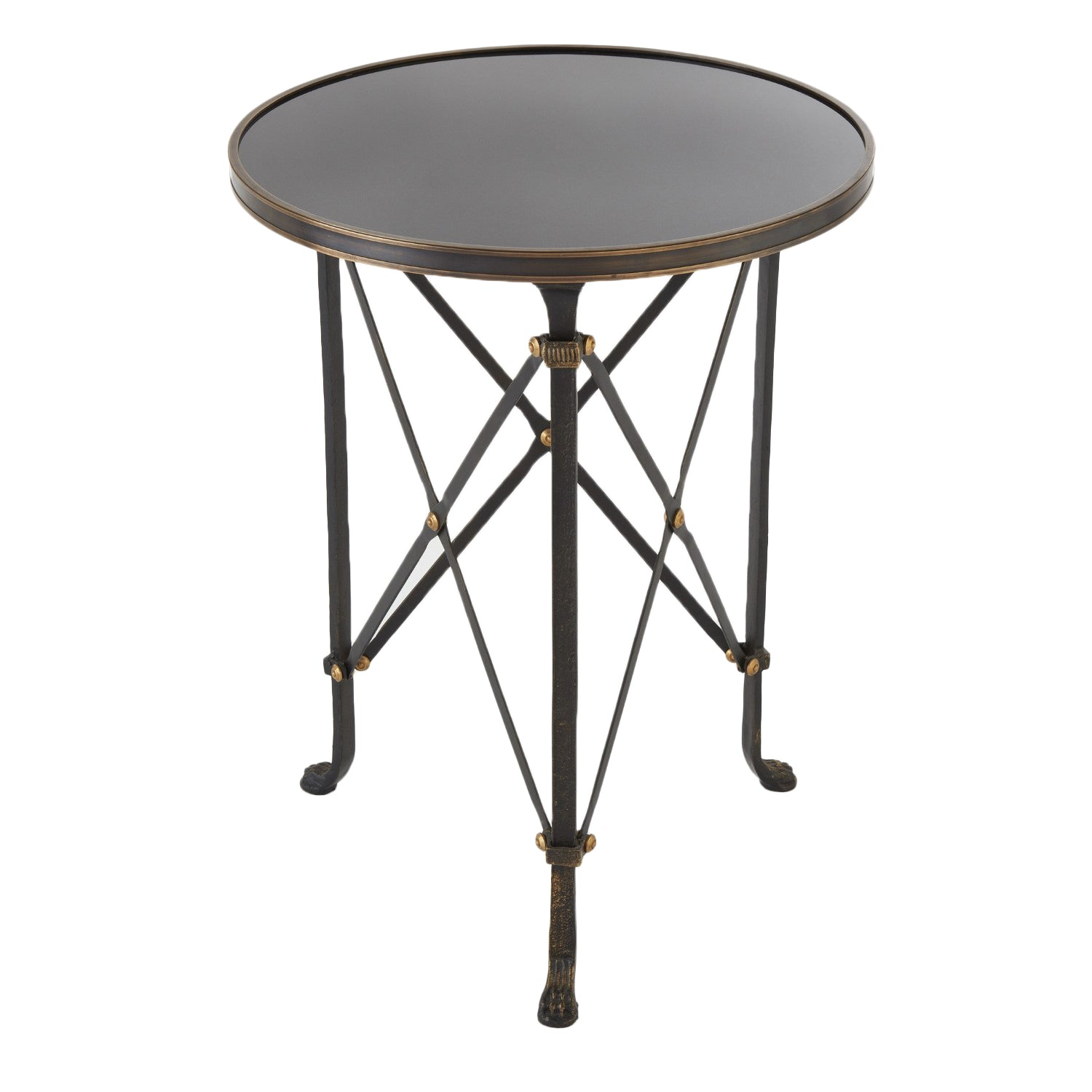 Black French Iron Table - Amy Berry Home