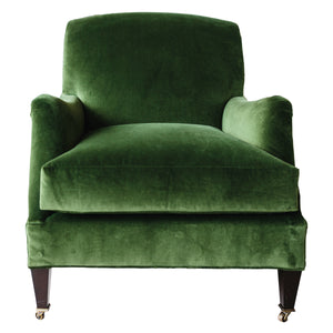 Moss Green Velvet Chairs - Amy Berry Home