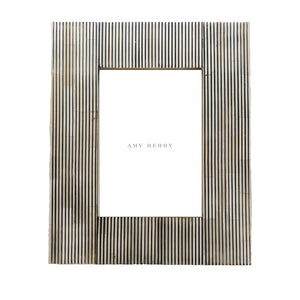 Pin Stripe Photo Frames - Amy Berry Home