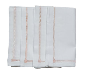Hemstitch Dinner Napkins - Amy Berry Home