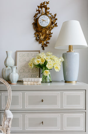 Celadon Hex Vase - Amy Berry Home