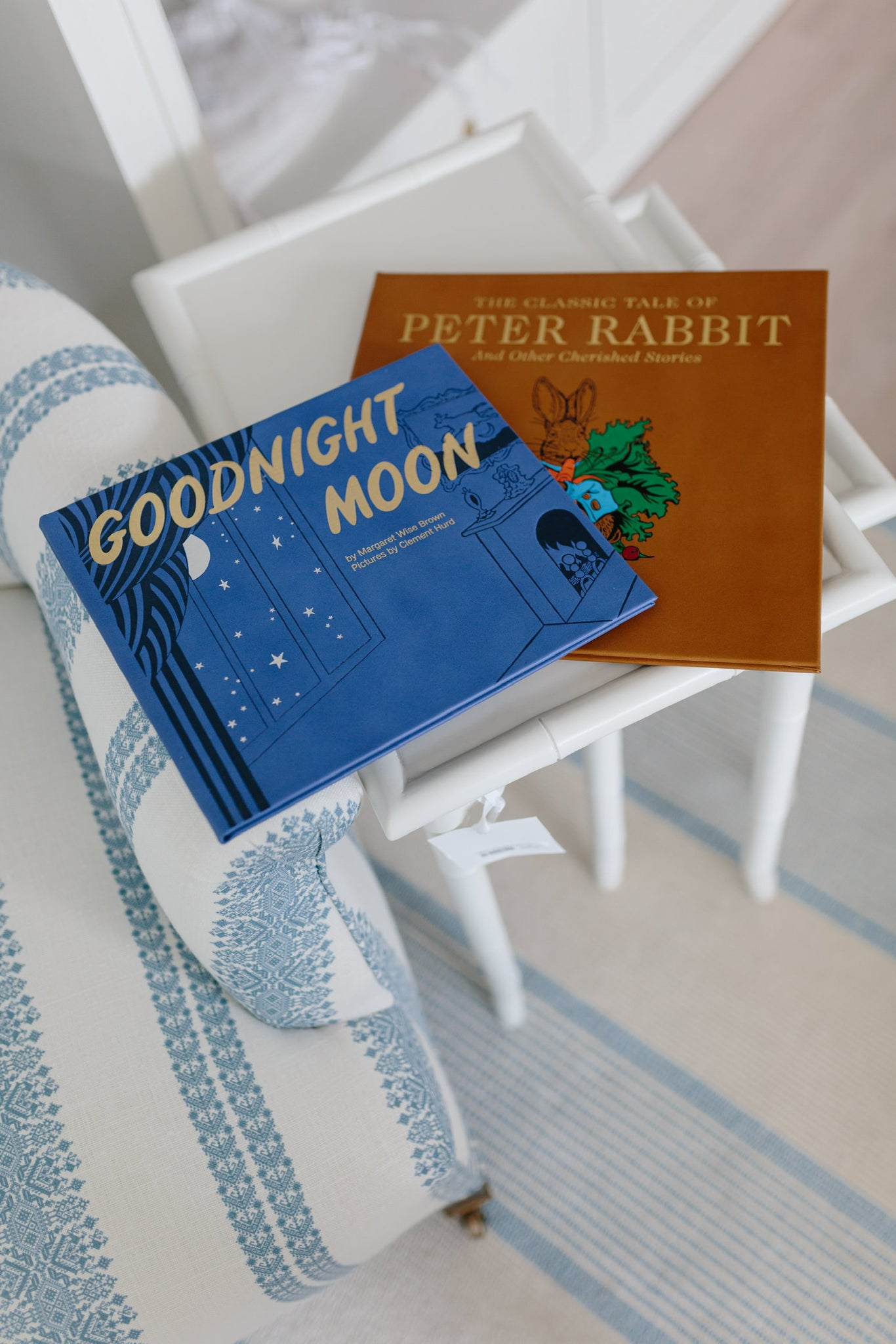 Goodnight Moon Leather Book - Amy Berry Home