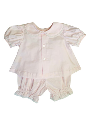 Pink and White Diaper Set - Amy Berry Home