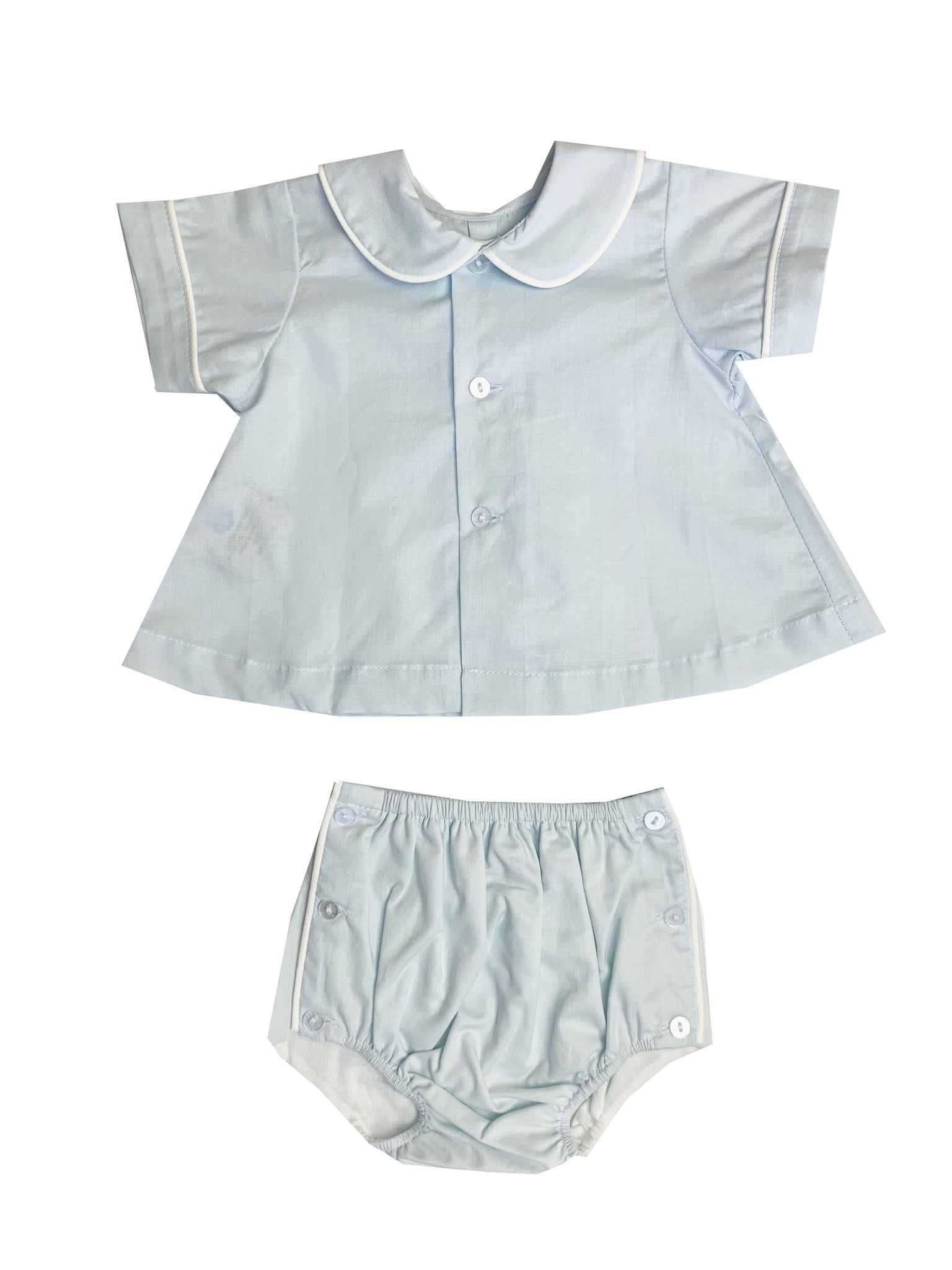 Blue and White Diaper Set - Amy Berry Home