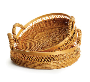 Open Wicker Tray - Amy Berry Home