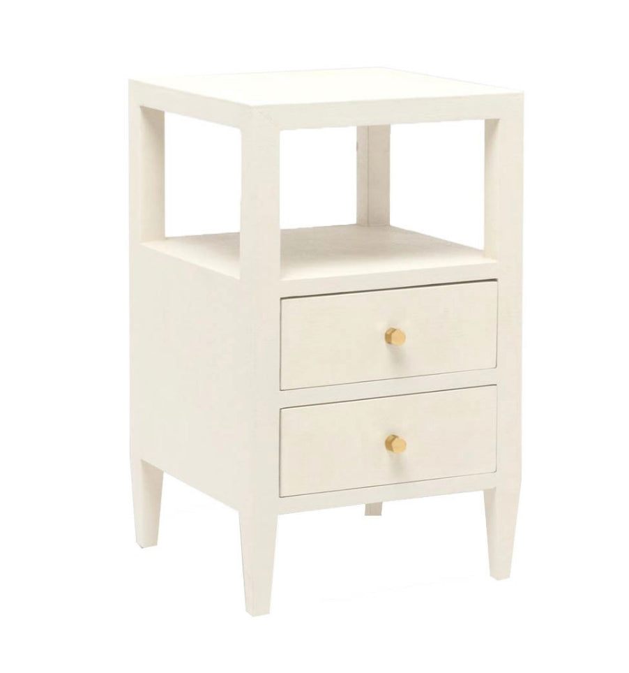 Linen Drawer Side Table - Amy Berry Home