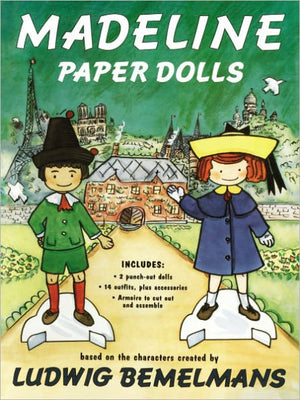 Madeline Paper Dolls - Amy Berry Home
