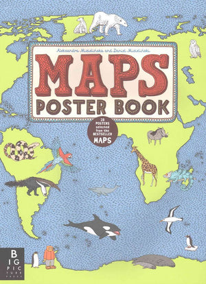 Maps Poster Book - Amy Berry Home
