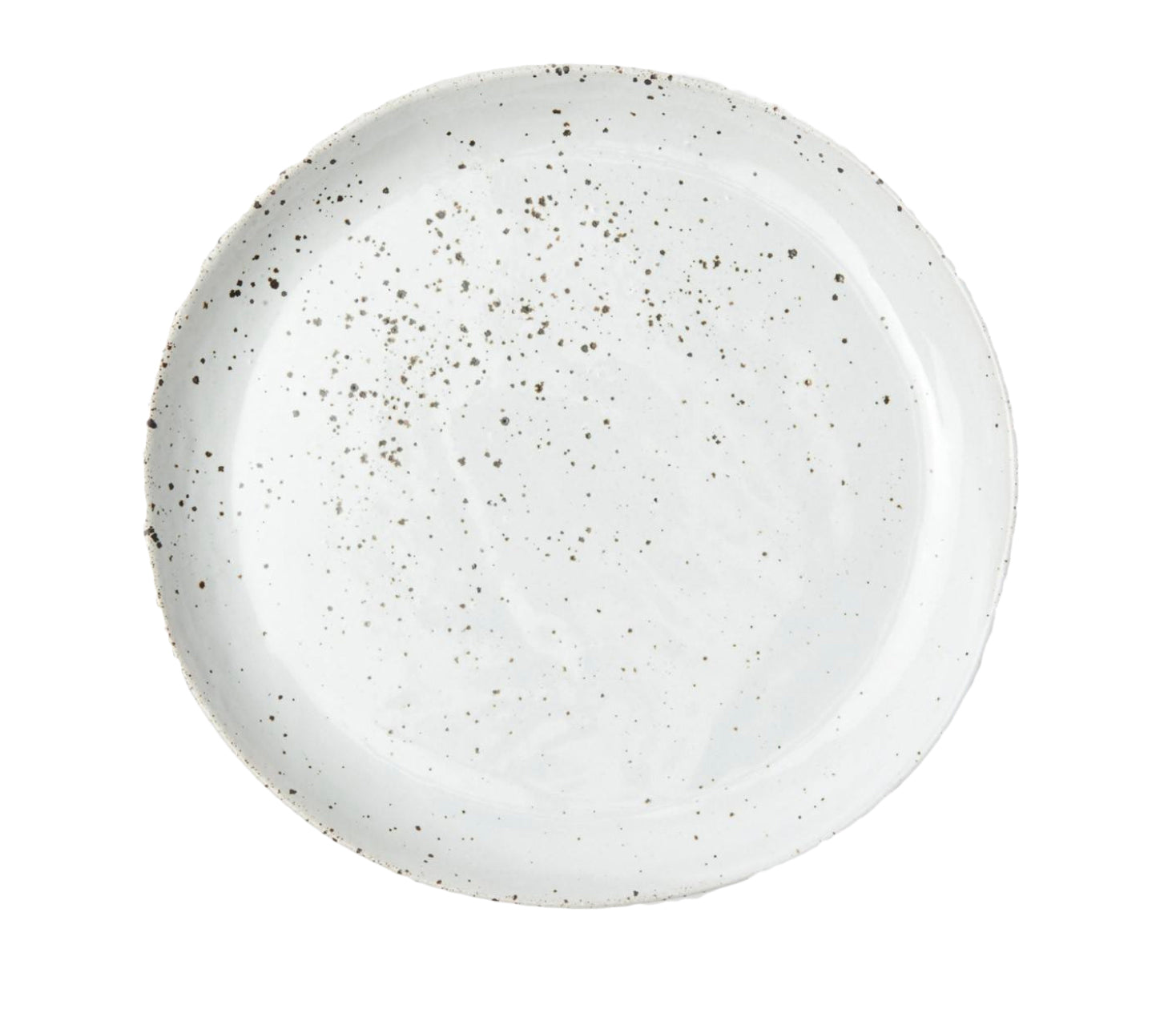 Marcus White Salt Glaze Dinner Plate - Amy Berry Home