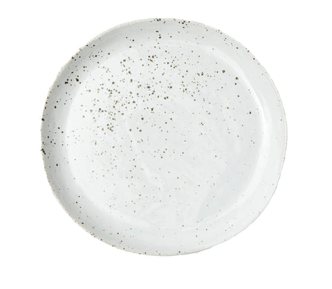 Marcus White Salt Glaze Dinner Plate