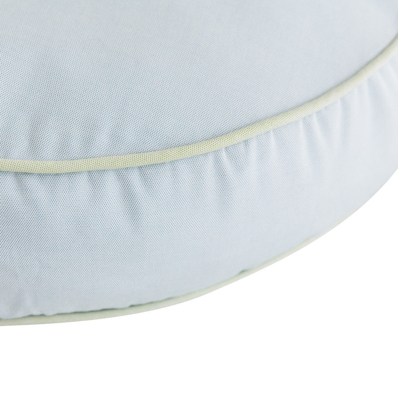 Round Blue With Green Welt Amy Berry Home