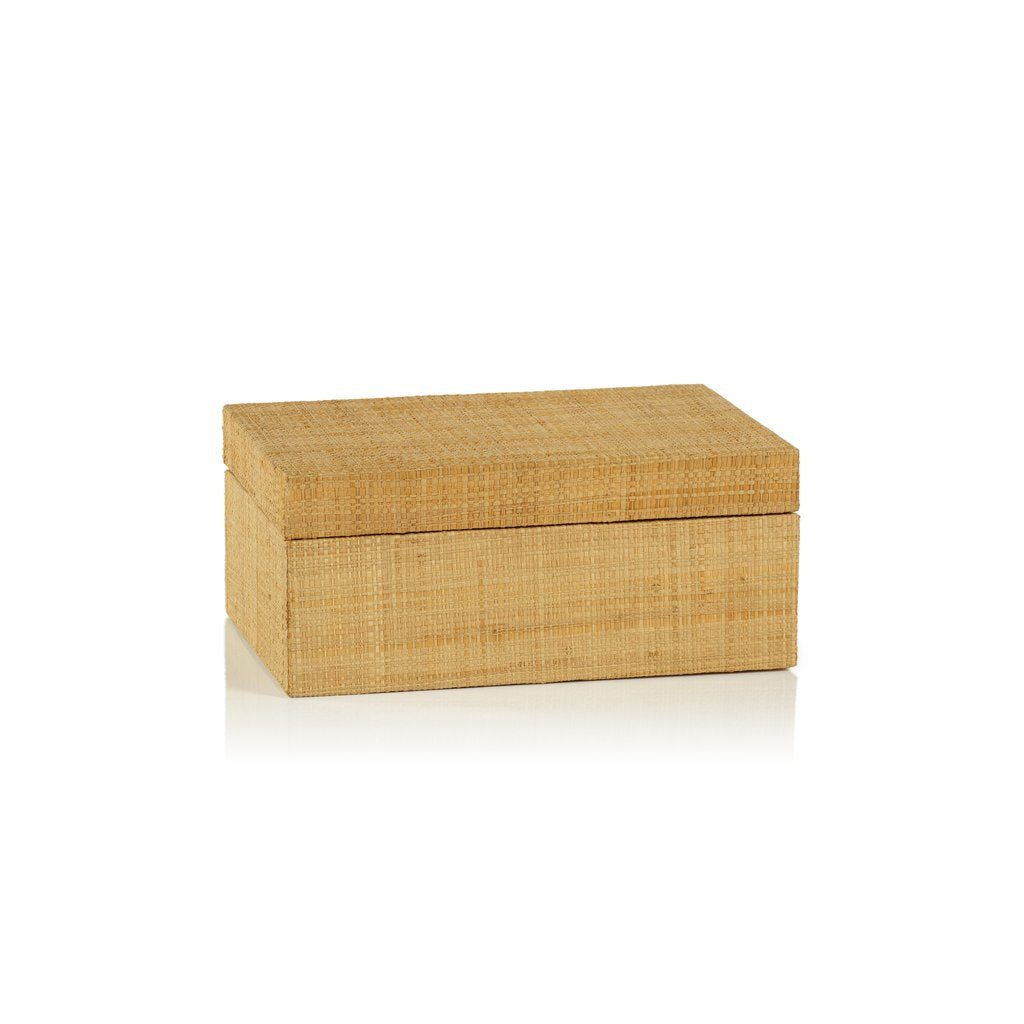 Grasscloth Boxes-multiple options