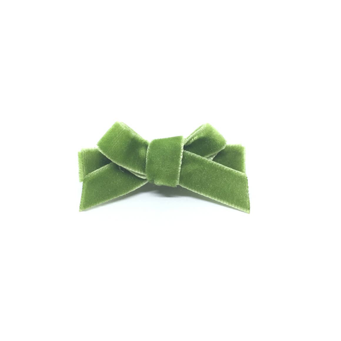 Velvet Mini Hair Bow - Amy Berry Home
