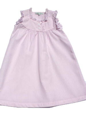 Pink Stripe Nightgown - Amy Berry Home