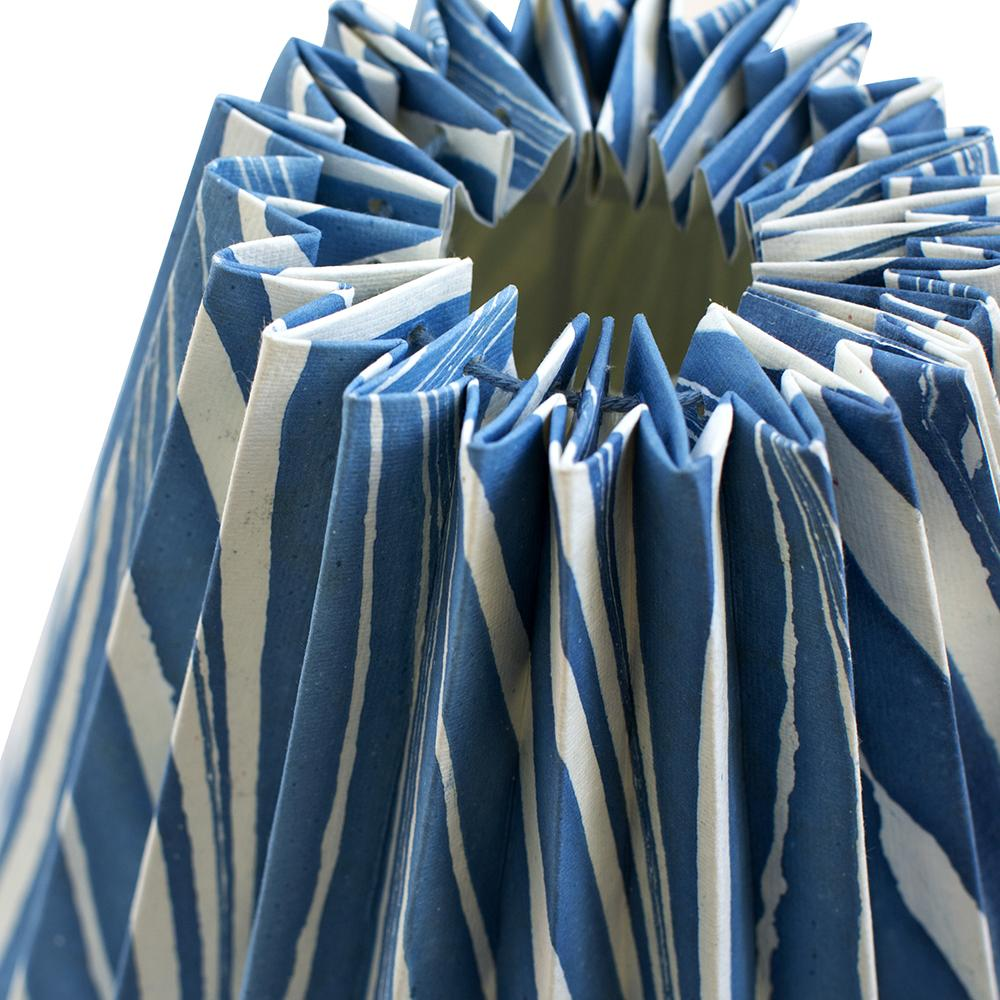 Pleated Paper Lamp Shade