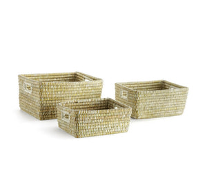 Rivergrass Rectangular Baskets - Amy Berry Home