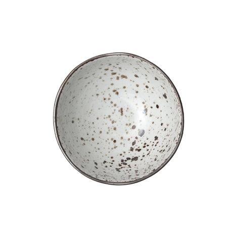 Stella Speckled White Cereal/Ice Cream Bowl