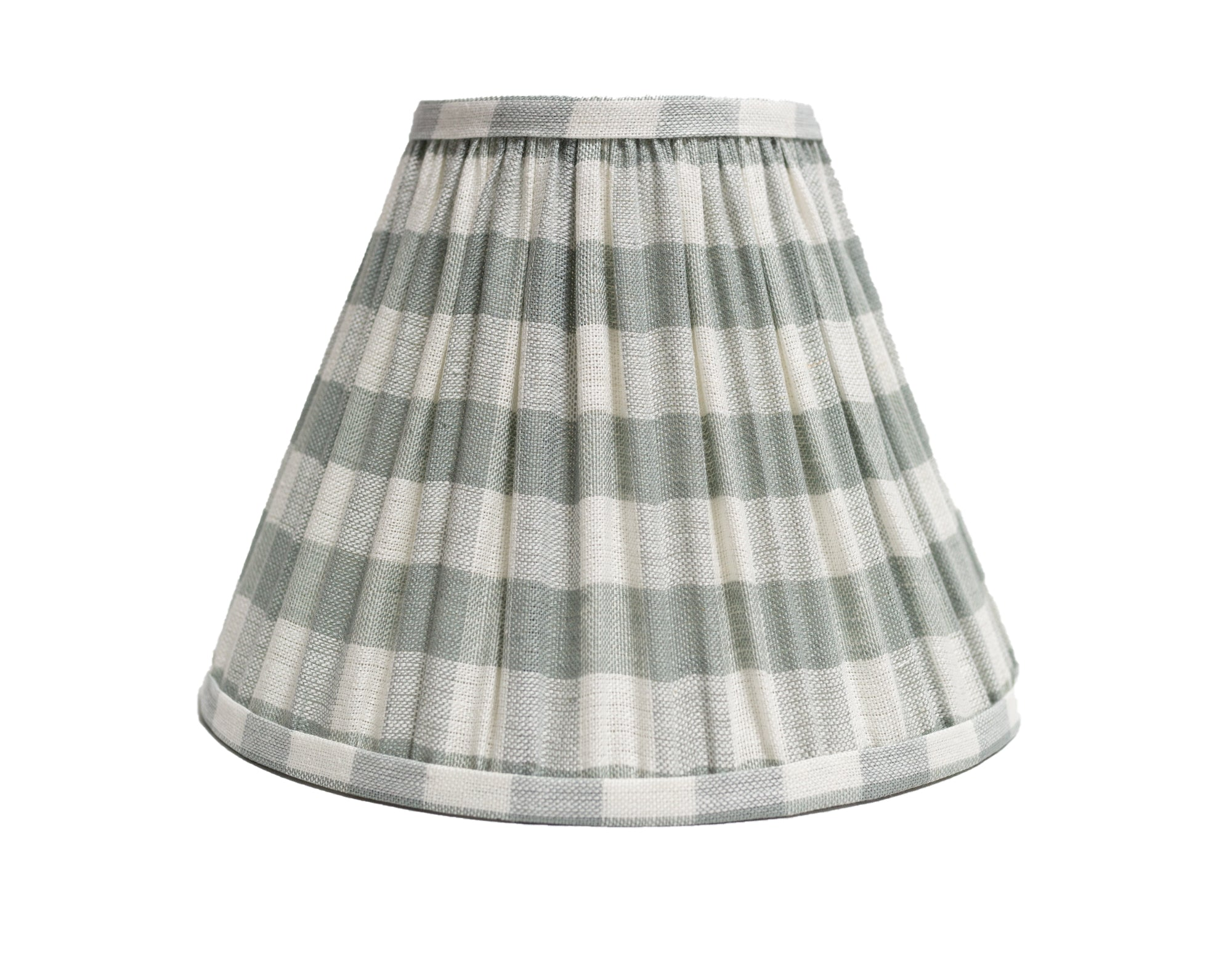 Swedish Blue Check Shade - Amy Berry Home